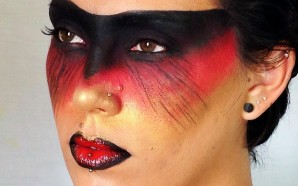 VIDEO: Warrior Queen Fantasy Makeup