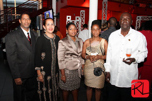 Photo: Ruth Marchan (centre), Susanna Haddad (second from left) and Anthony Haddad (far left) all had roles somewhere between the executive branch of the Ministry of Sport and LifeSport's grassroot coordinators.