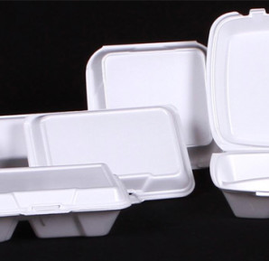 Styrofoam-containers