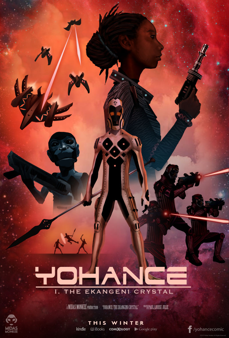 African-Inspired Space OperaYohancé Is Going To Be Our Next Obsession