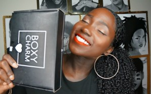 VIDEO: Boxycharm August unboxing+ How I did my hair(HOTD)