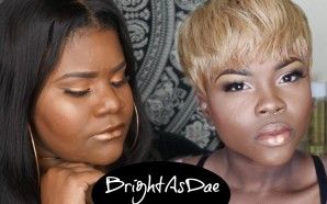 VIDEO: Glowy Makeup ft BrightAsDae | Lyric Rochester