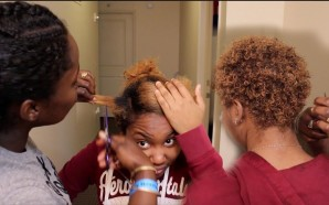 VIDEO: THE BIG CHOP AND COLOR!