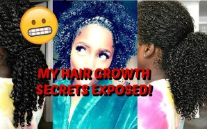 VIDEO: SPILLING MORE TEA ON MY FAST NATURAL HAIR GROWTH!…