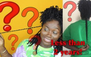 VIDEO: The Return of Black Rapunzel: LENGTH CHECK|HAIR GROWING LIKE…