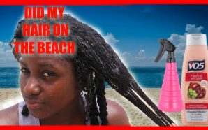 VIDEO: DOING MY HAIR ON THE BEACH! Easy Mini Twists…