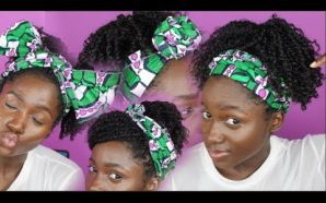 VIDEO: 5 QUICK and EASY Headwrap styles with TWISTS!