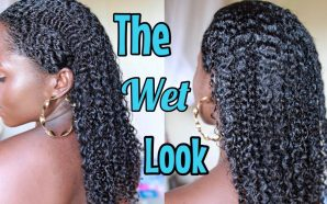 VIDEO: I TRIED THE WET LOOK ON MY NATURAL HAIR!…