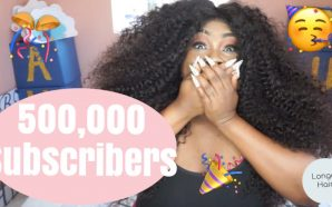 VIDEO: Thank you for 500,000 SUBSCRIBERS! Ft Longqi Hair