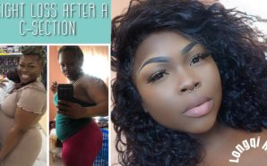 VIDEO: Losing weight after a C-Section ft Longqi Hair