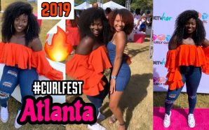 VIDEO: VLOG:WORKING WITH #CURLFEST| FIRST CURLFEST IN ATLANTA