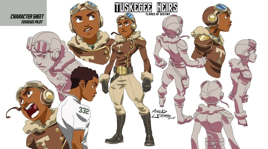 Tuskegee Heirs Character Design