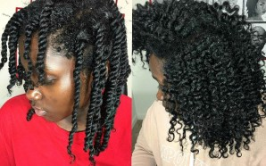 VIDEO: FIRST TIME 3 STRAND Twist-out!|DO IT WITH ME!!
