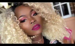 VIDEO: Blonde Hair Berry Lips Makeup Tutorial
