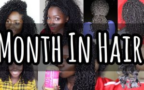 VIDEO: REAL AHHZzz| MONTH In My Natural Hair| October 2018!!