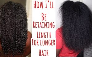VIDEO: HOW I'll Retain Length For Longer Natural Hair