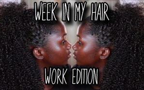 VIDEO: WASH N GO EDITION| Realistic WEEK In My Hair…