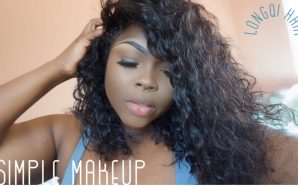 VIDEO: Effortless makeup and Longqi Hair Brazilian Wavy