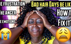 VIDEO: BAD HAIR DAYS BE LIKE| Twistout Fail Edition